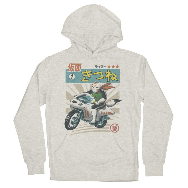 Kitsune Kamen Rider Men's Pullover Hoody by Vincent Trinidad