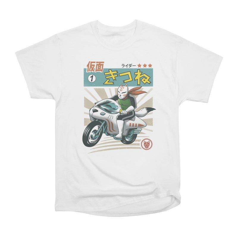 Kitsune Kamen Rider Women's T-Shirt by Vincent Trinidad Art