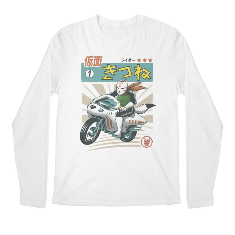 Kitsune Kamen Rider Men's Longsleeve T-Shirt by Vincent Trinidad
