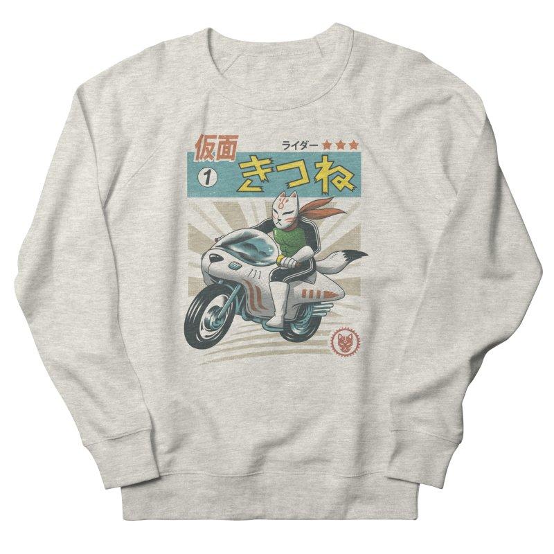 Kitsune Kamen Rider Men's Sweatshirt by Vincent Trinidad Art