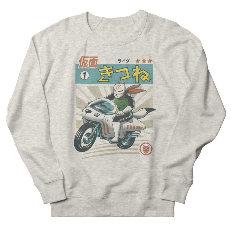 Kitsune Kamen Rider Men's French Terry Sweatshirt by vincenttrinidad's Artist Shop