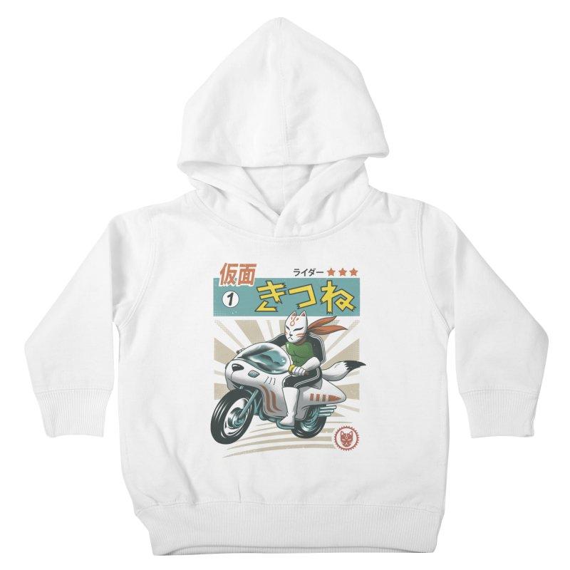 Kitsune Kamen Rider Kids Toddler Pullover Hoody by vincenttrinidad's Artist Shop