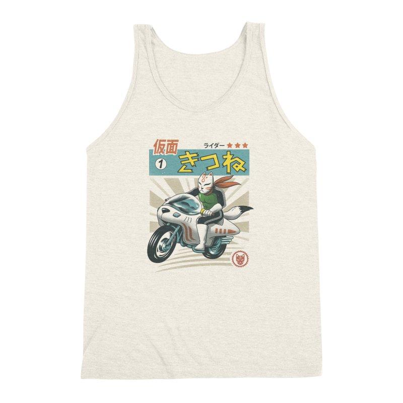 Kitsune Kamen Rider Men's Triblend Tank by vincenttrinidad's Artist Shop