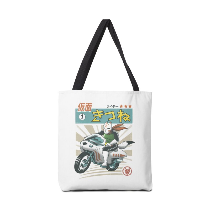 Kitsune Kamen Rider Accessories Bag by vincenttrinidad's Artist Shop