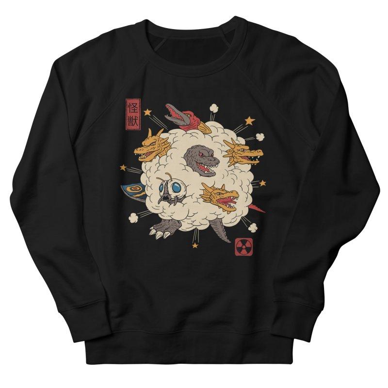 Kaiju Rumble Men's Sweatshirt by Vincent Trinidad