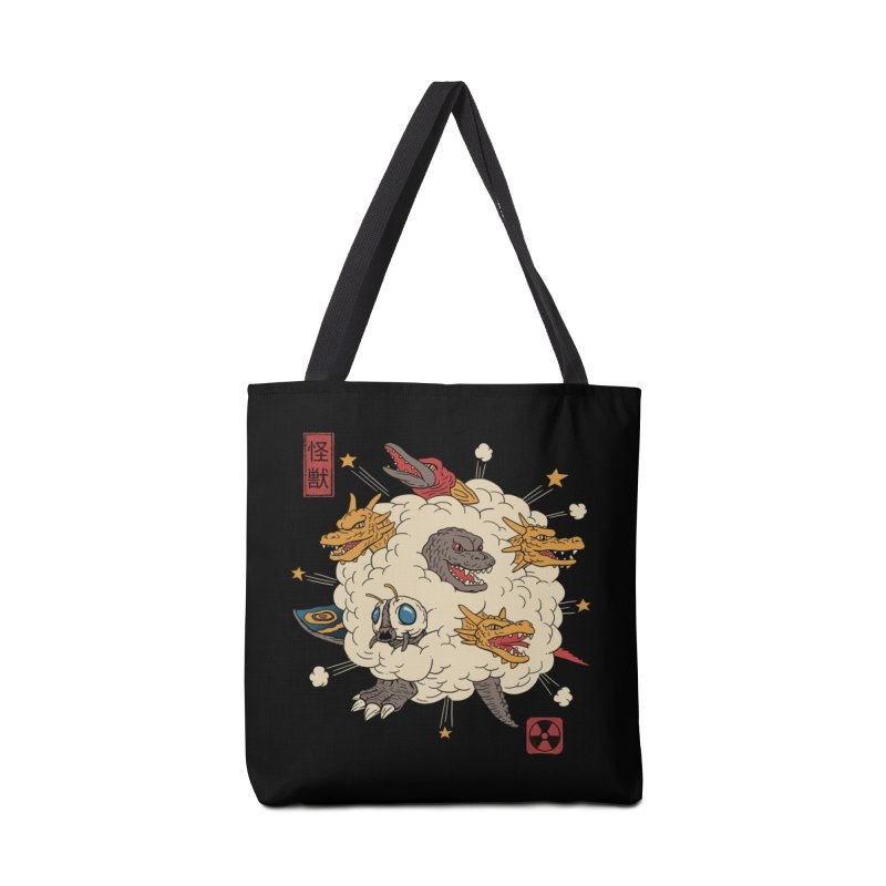Kaiju Rumble Accessories Bag by vincenttrinidad's Artist Shop