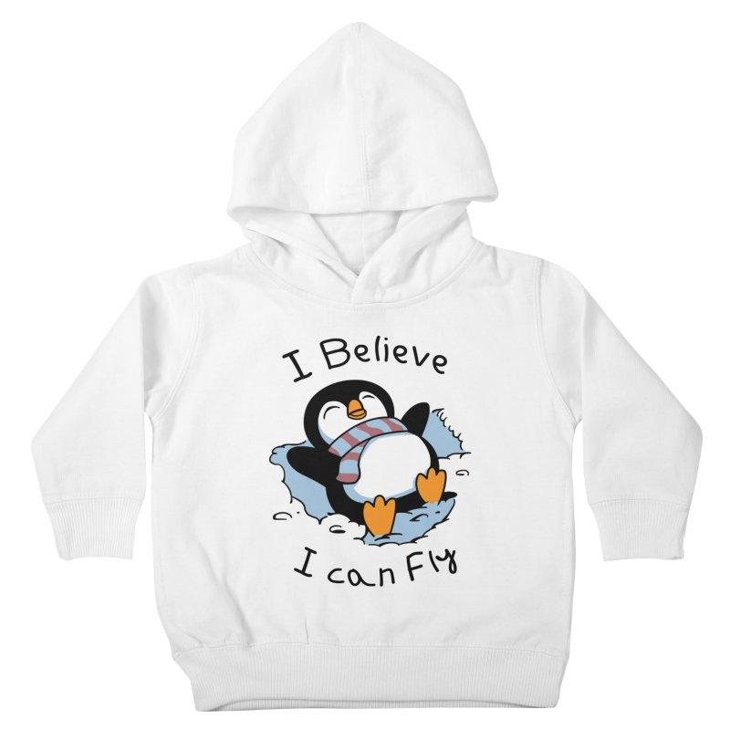 Snow Penguin Kids Toddler Pullover Hoody by vincenttrinidad's Artist Shop