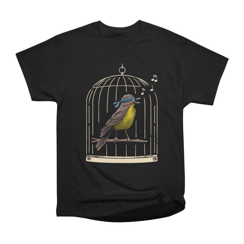 Follow the Birds Men's Heavyweight T-Shirt by vincenttrinidad's Artist Shop