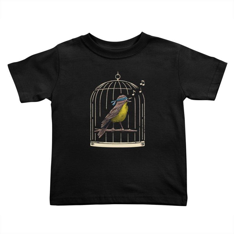 Follow the Birds Kids Toddler T-Shirt by vincenttrinidad's Artist Shop