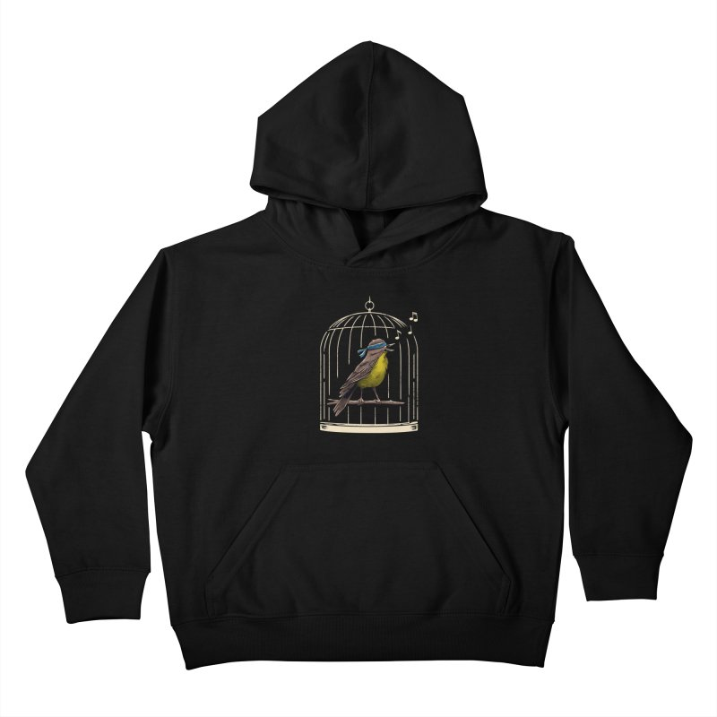 Follow the Birds Kids Pullover Hoody by vincenttrinidad's Artist Shop