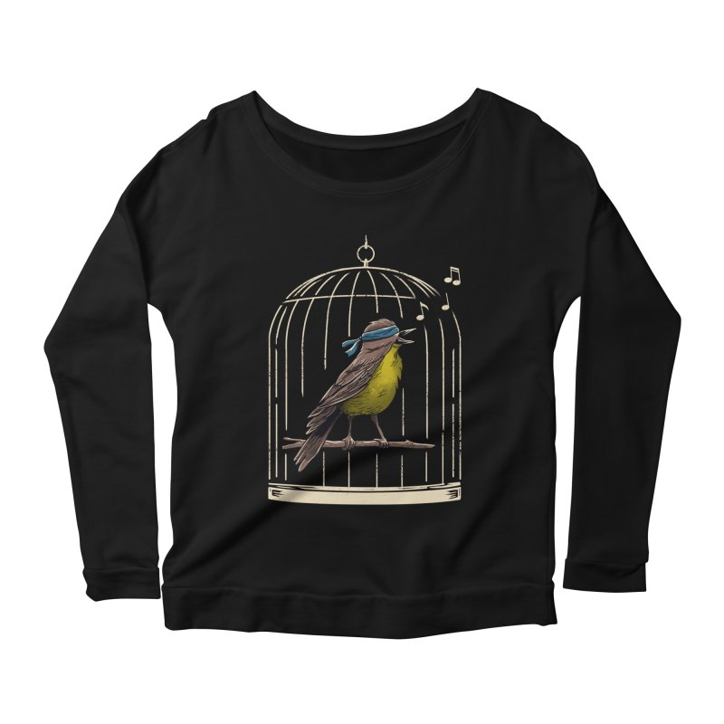Follow the Birds Women's Scoop Neck Longsleeve T-Shirt by vincenttrinidad's Artist Shop