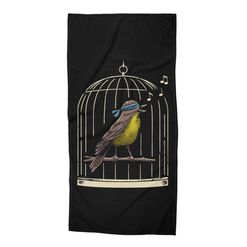 Follow the Birds Accessories Beach Towel by vincenttrinidad's Artist Shop