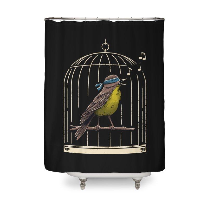 Follow the Birds Home Shower Curtain by vincenttrinidad's Artist Shop