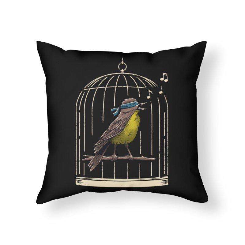 Follow the Birds Home Throw Pillow by vincenttrinidad's Artist Shop