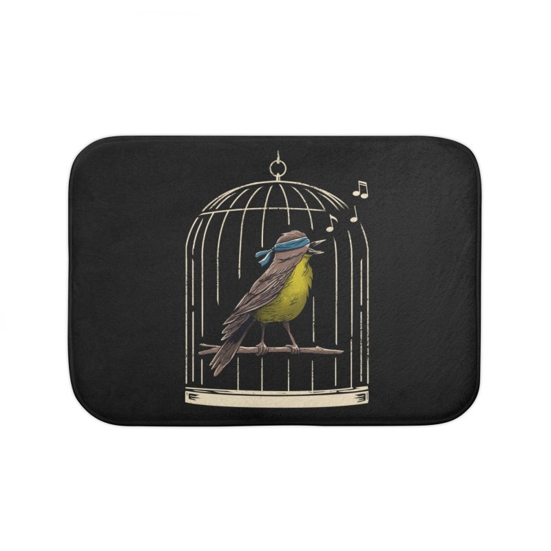 Follow the Birds Home Bath Mat by vincenttrinidad's Artist Shop