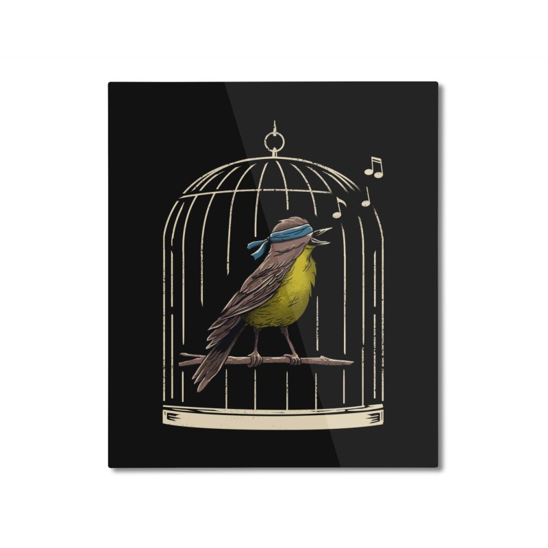 Follow the Birds Home Mounted Aluminum Print by vincenttrinidad's Artist Shop