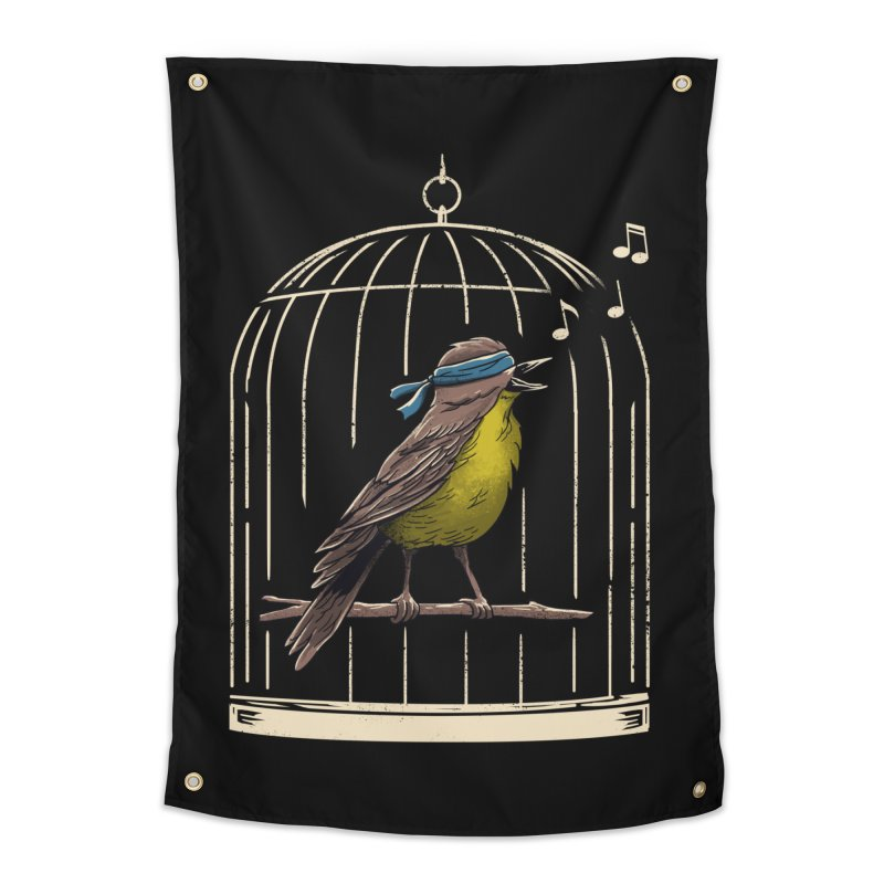 Follow the Birds Home Tapestry by vincenttrinidad's Artist Shop