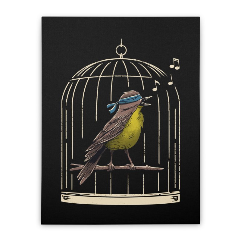 Follow the Birds Home Stretched Canvas by vincenttrinidad's Artist Shop