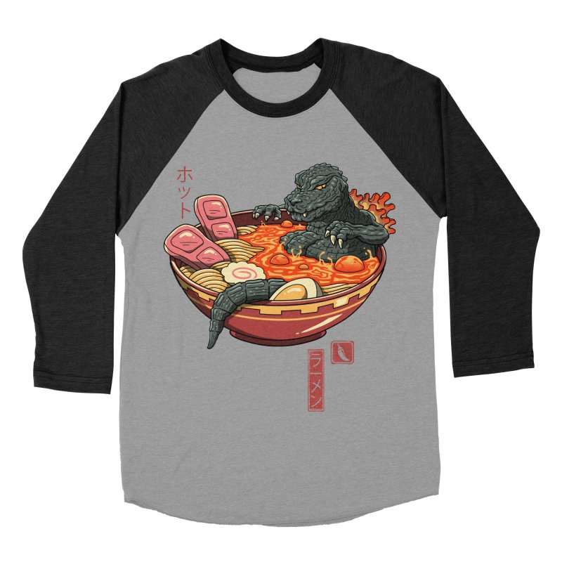 Spicy Lava Ramen King Women's Baseball Triblend Longsleeve T-Shirt by vincenttrinidad's Artist Shop