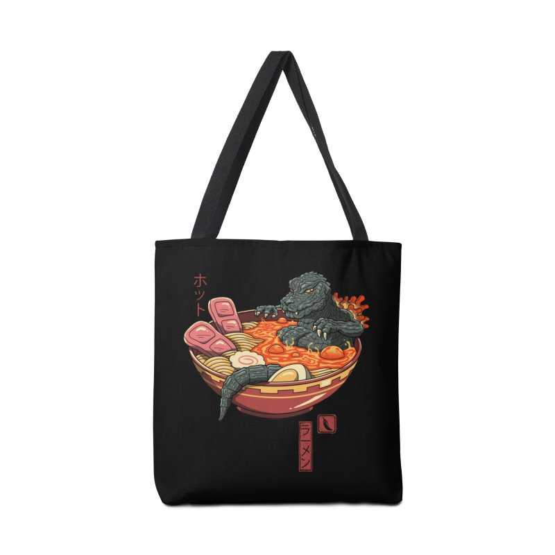 Spicy Lava Ramen King Accessories Bag by vincenttrinidad's Artist Shop