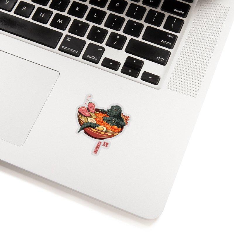 Spicy Lava Ramen King Accessories Sticker by Vincent Trinidad Art