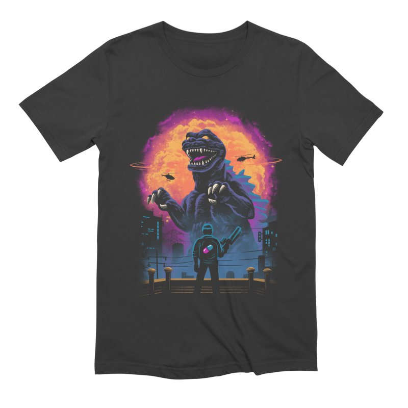 Showdown in Neo Tokyo Men's Extra Soft T-Shirt by Vincent Trinidad