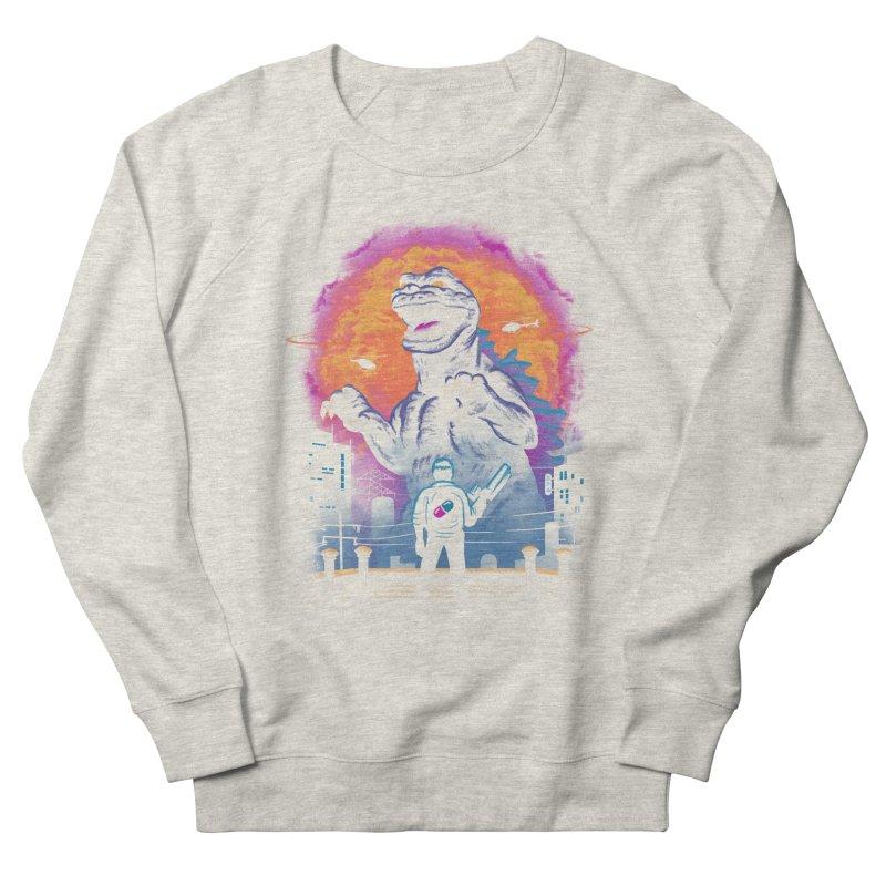 Showdown in Neo Tokyo Women's French Terry Sweatshirt by vincenttrinidad's Artist Shop