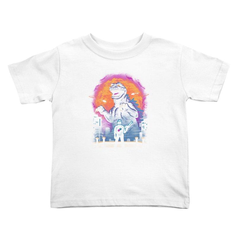 Showdown in Neo Tokyo Kids Toddler T-Shirt by vincenttrinidad's Artist Shop