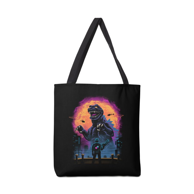 Showdown in Neo Tokyo Accessories Bag by vincenttrinidad's Artist Shop