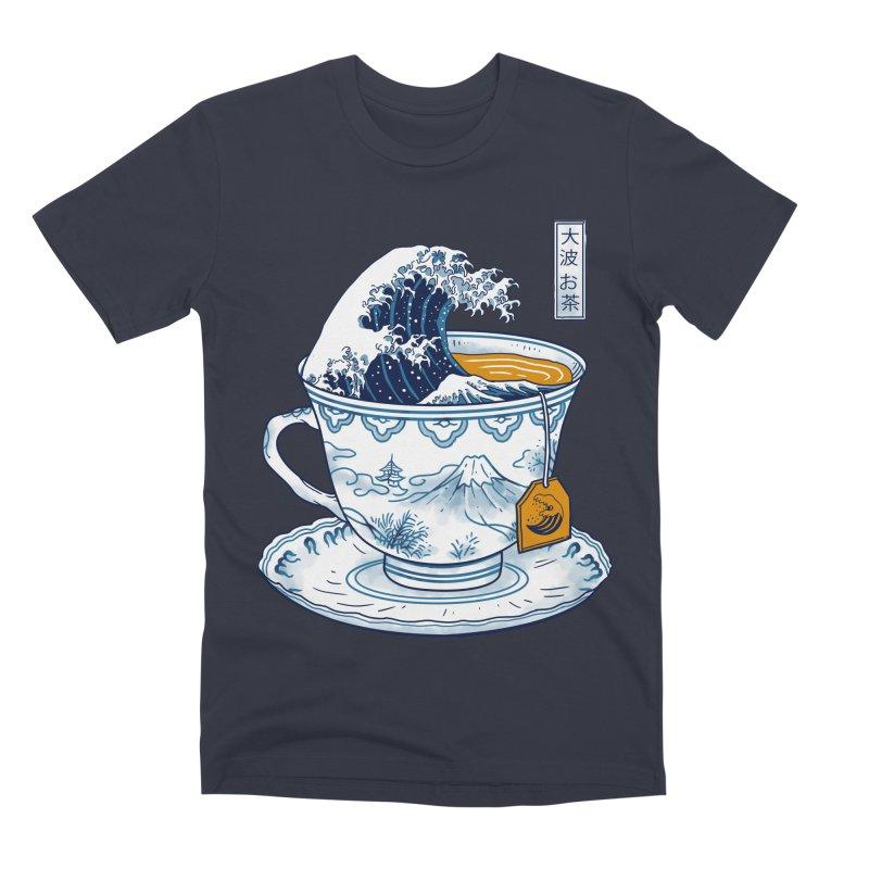 The Great Kanagawa Tee Men's Premium T-Shirt by vincenttrinidad's Artist Shop