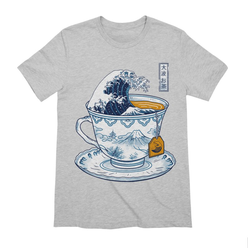 The Great Kanagawa Tee Men's Extra Soft T-Shirt by Vincent Trinidad