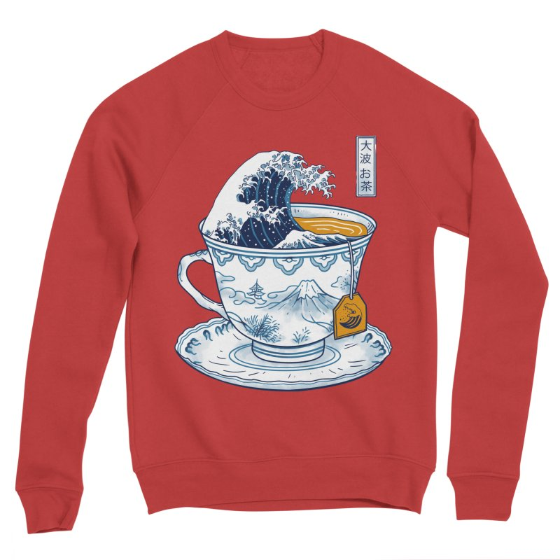 The Great Kanagawa Tee Women's Sponge Fleece Sweatshirt by vincenttrinidad's Artist Shop