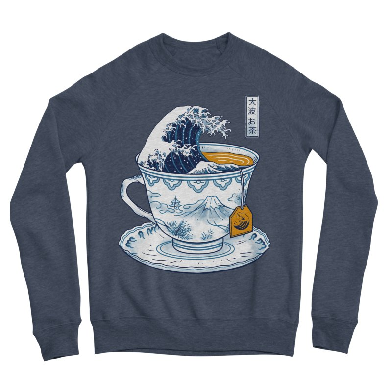 The Great Kanagawa Tee Men's Sponge Fleece Sweatshirt by vincenttrinidad's Artist Shop