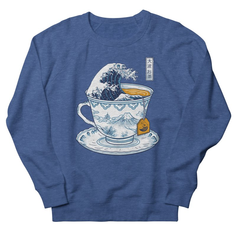 The Great Kanagawa Tee Men's Sweatshirt by Vincent Trinidad