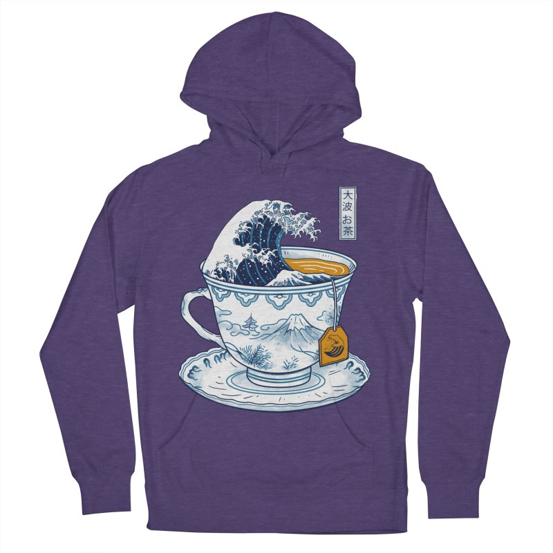 The Great Kanagawa Tee Women's French Terry Pullover Hoody by vincenttrinidad's Artist Shop