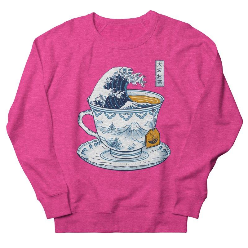 The Great Kanagawa Tee Women's French Terry Sweatshirt by vincenttrinidad's Artist Shop