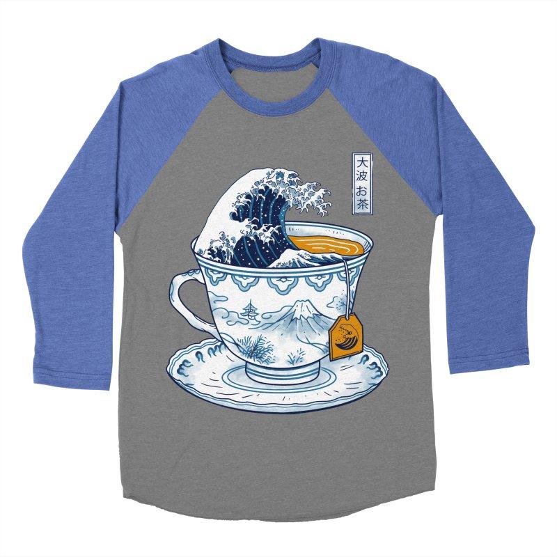 The Great Kanagawa Tee Women's Baseball Triblend Longsleeve T-Shirt by vincenttrinidad's Artist Shop