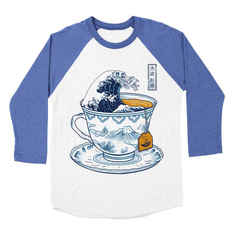 The Great Kanagawa Tee Men's Baseball Triblend Longsleeve T-Shirt by vincenttrinidad's Artist Shop