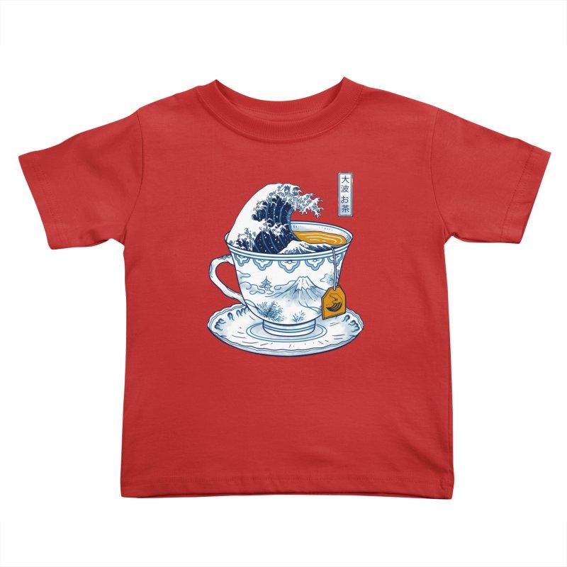 The Great Kanagawa Tee Kids Toddler T-Shirt by vincenttrinidad's Artist Shop