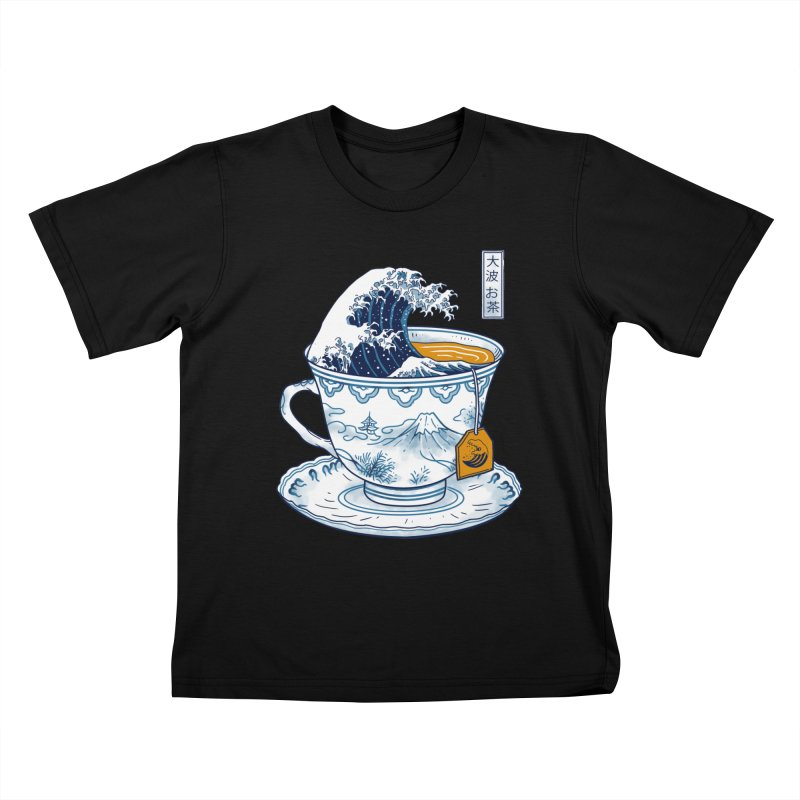The Great Kanagawa Tee Kids T-Shirt by vincenttrinidad's Artist Shop