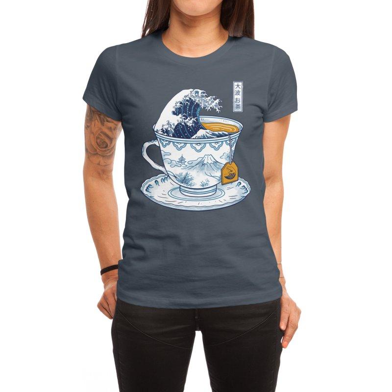 The Great Kanagawa Tee Women's T-Shirt by Vincent Trinidad Art
