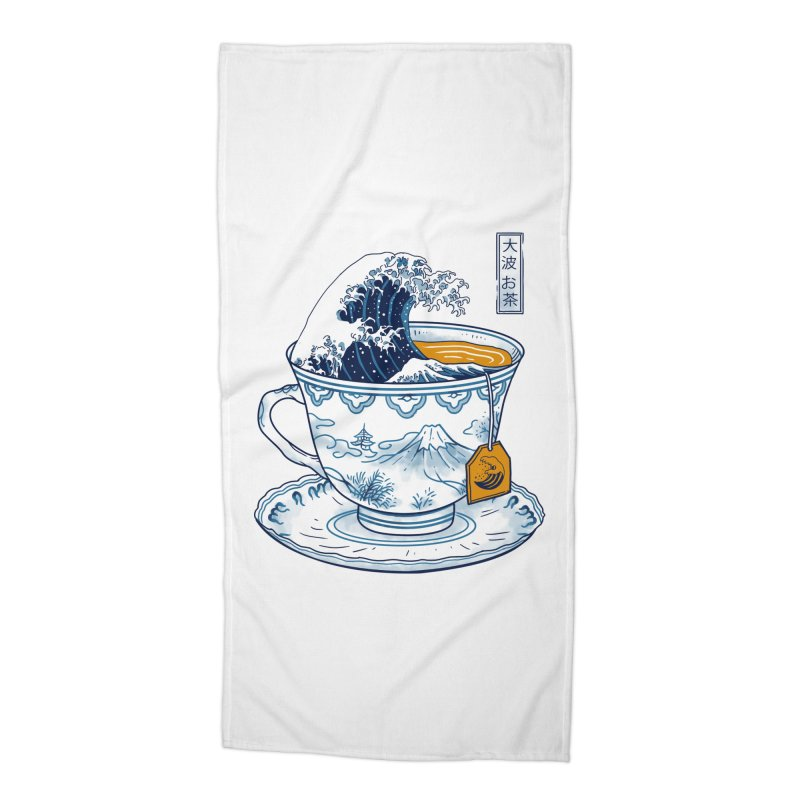 The Great Kanagawa Tee Accessories Beach Towel by vincenttrinidad's Artist Shop