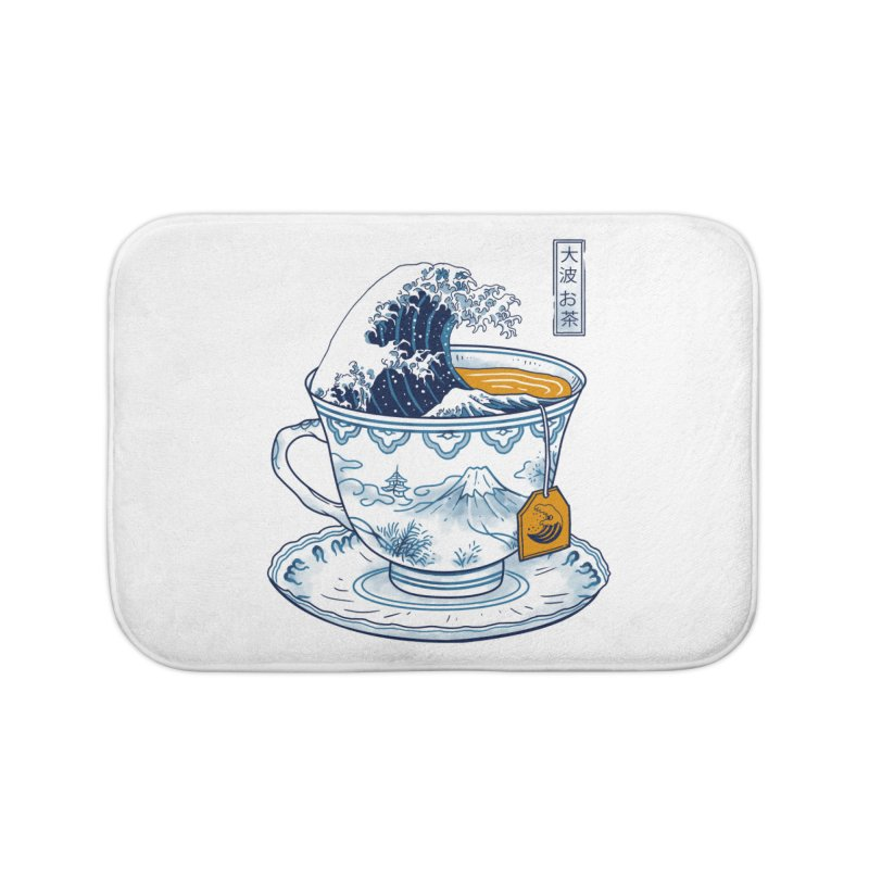 The Great Kanagawa Tee Home Bath Mat by vincenttrinidad's Artist Shop