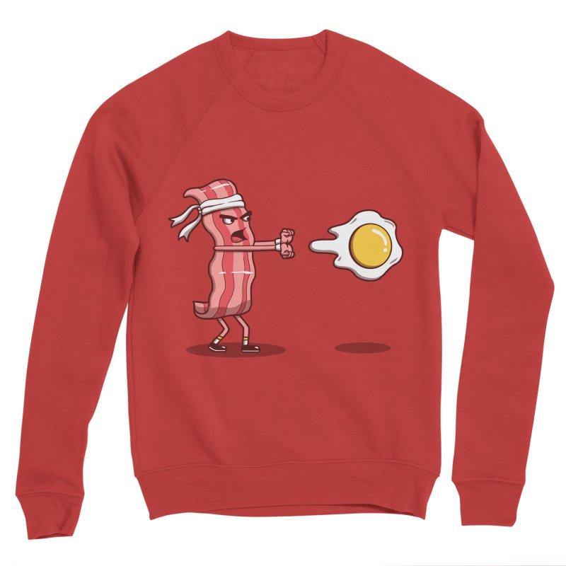 Bacon Fighter Women's Sponge Fleece Sweatshirt by vincenttrinidad's Artist Shop