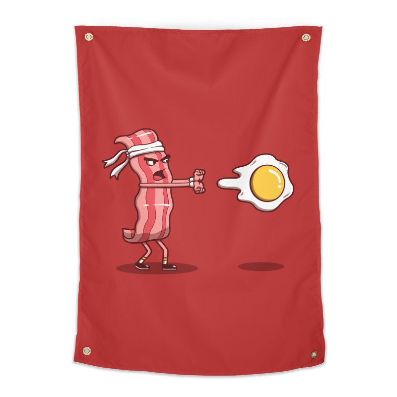 Bacon Fighter Home Tapestry by vincenttrinidad's Artist Shop