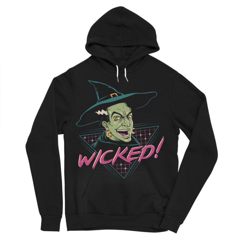 Wicked Witch Men's Sponge Fleece Pullover Hoody by vincenttrinidad's Artist Shop
