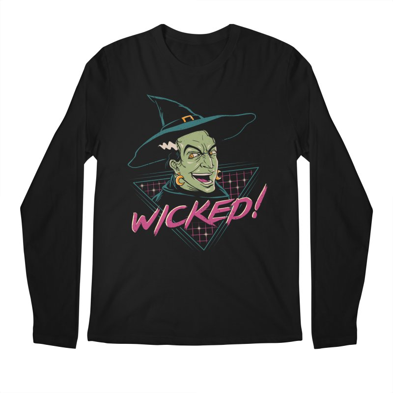Wicked Witch Men's Longsleeve T-Shirt by vincenttrinidad's Artist Shop