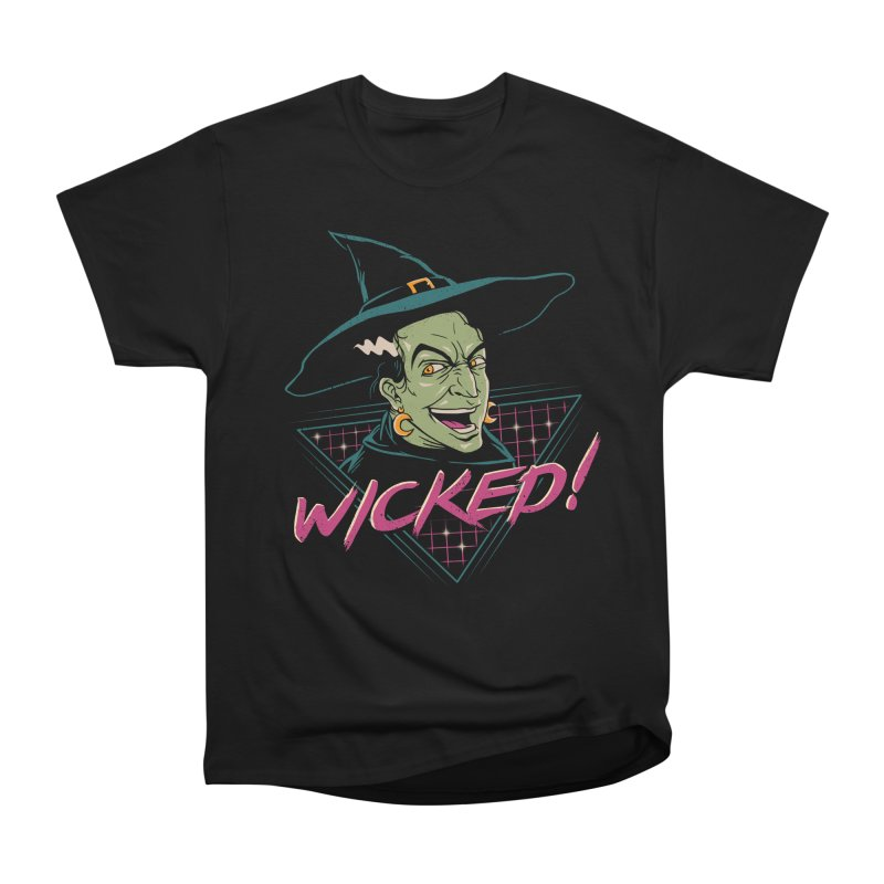 Wicked Witch Men's Heavyweight T-Shirt by vincenttrinidad's Artist Shop