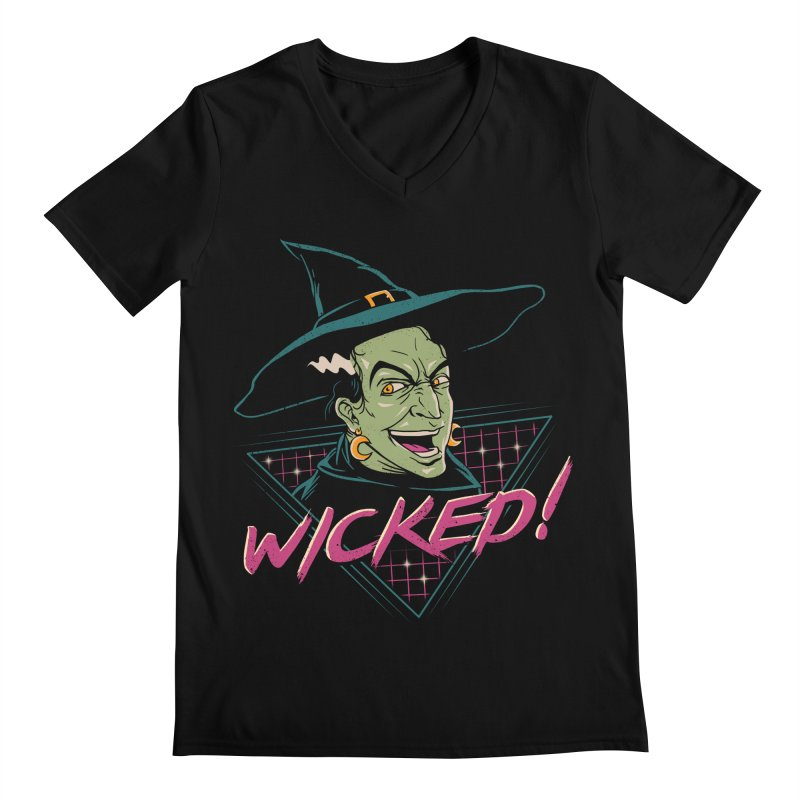 Wicked Witch Men's Regular V-Neck by vincenttrinidad's Artist Shop