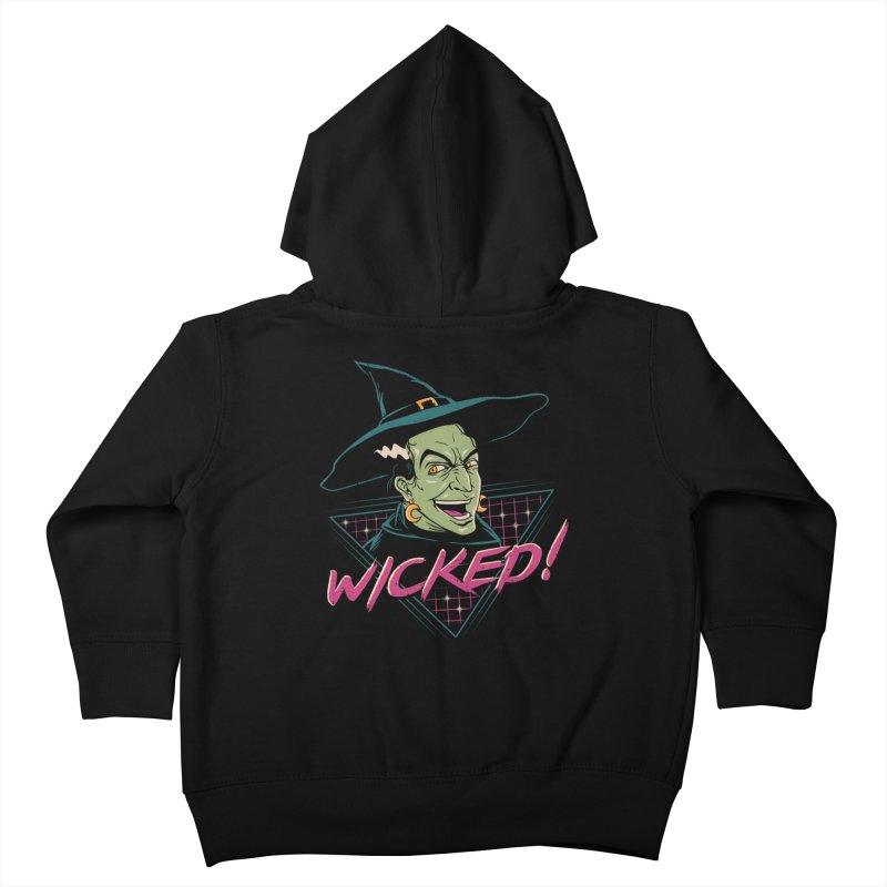 Wicked Witch Kids Toddler Zip-Up Hoody by vincenttrinidad's Artist Shop